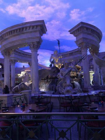 caeser's palace exploring las vegas strip