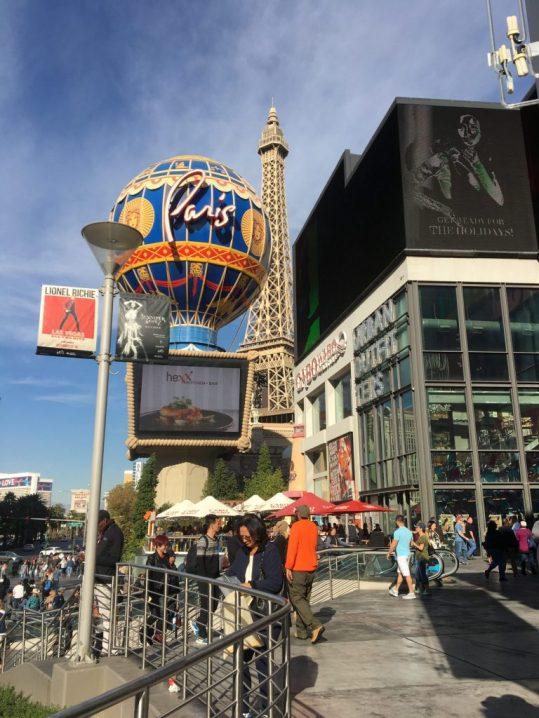 Exploring the Las Vegas Strip