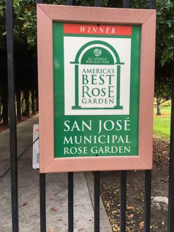 Rose Garden San Jose California