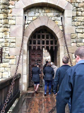 Entrance to Castello di Amorosa in Napa California