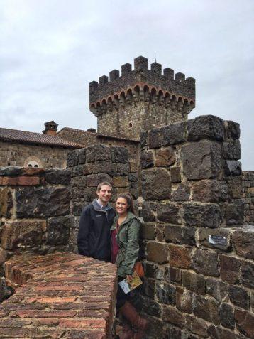 Inside Castello di Amorosa in Napa California