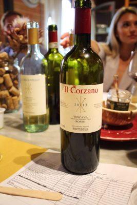 Wine from Corzano E Paterno in Tuscany Italy