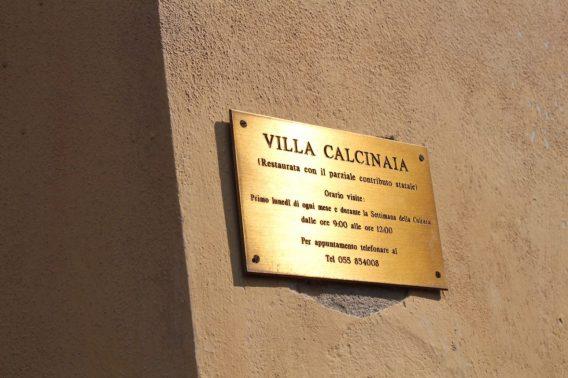 Villa Calcinaia winery in Italy