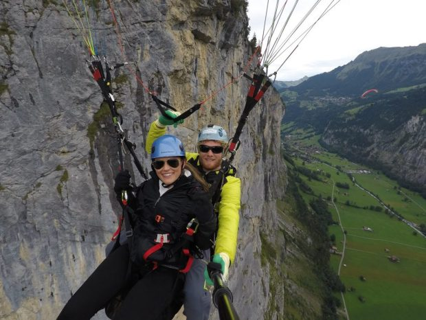 Paragliding in Switzerland