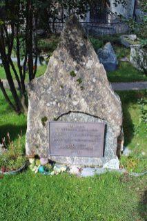 Graves at the Mountaineer cemetery in Zermatt, Switzerland