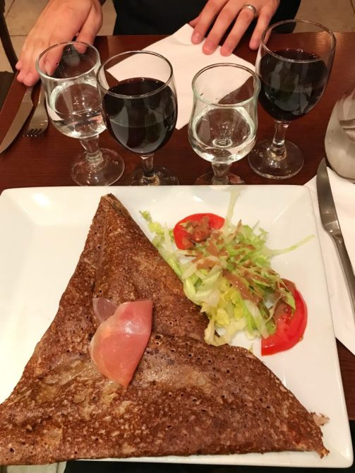 Dinner in Paris France