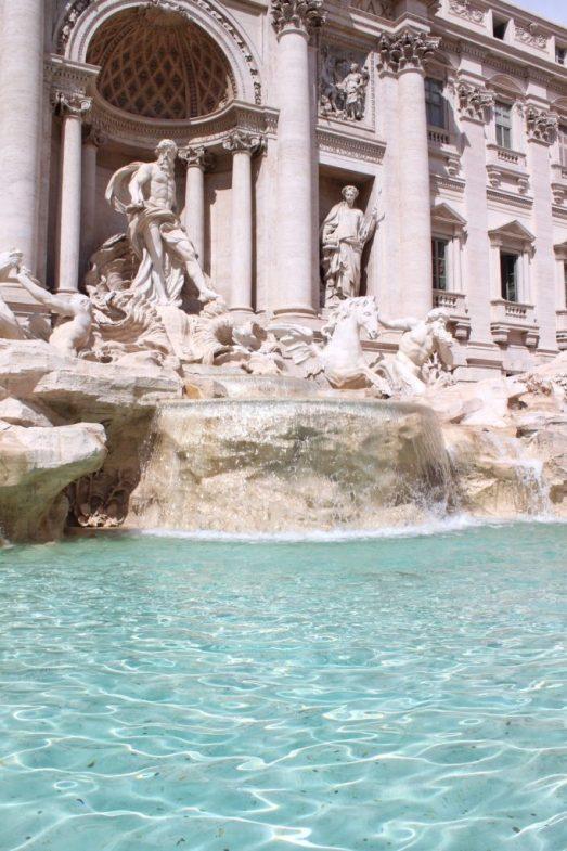 Trevi Fountain in Rome Italy