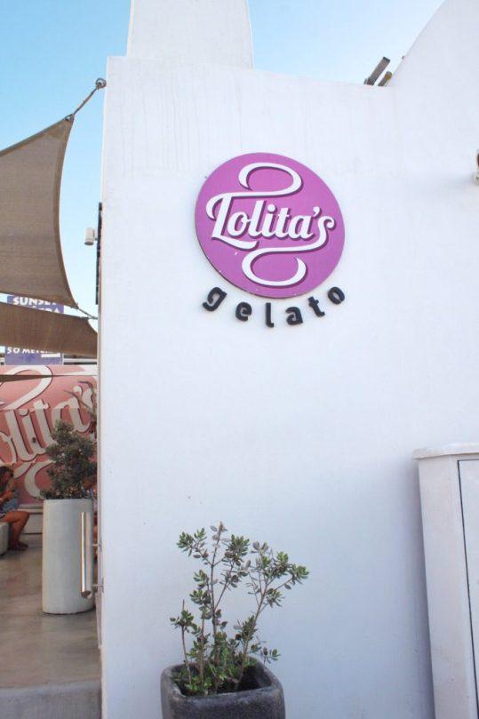 Lolita's gelato in Oia, Santorini