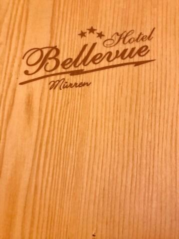 Dinner at Hotel Bellevue in Mürren