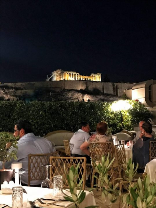 Acropolis Secret Restaurant Athens Greece