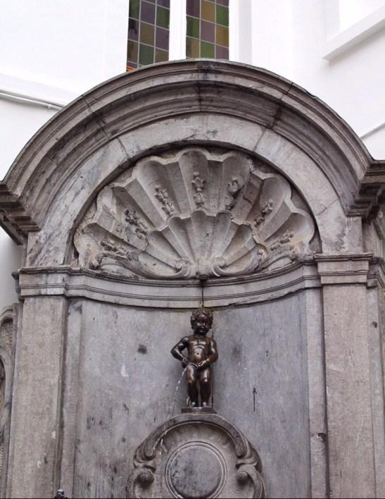 Mannekin Pis in Brussels