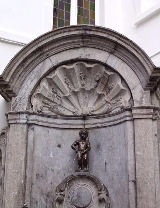 Mannekin Pis in Brussels