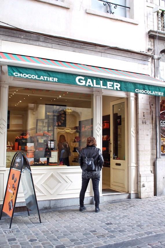 Galler Chocolatier in Brussels Belgium