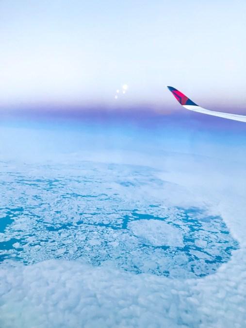 Flight to Seoul