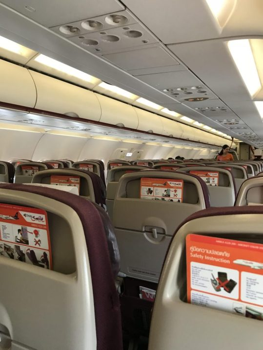 Thai Smile Flight