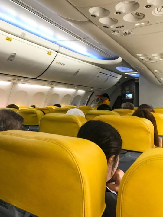 Nok Air flight Chiang Mai to Bali