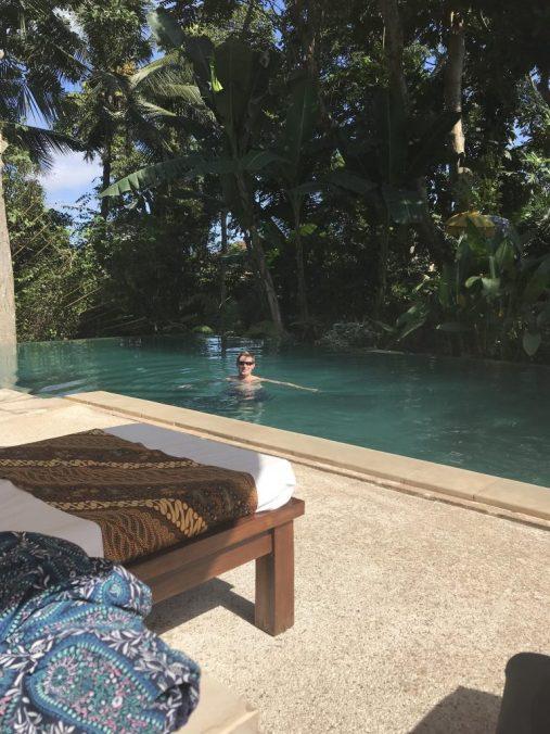 Pool at Komaneka Monkey Forest Ubud Bali