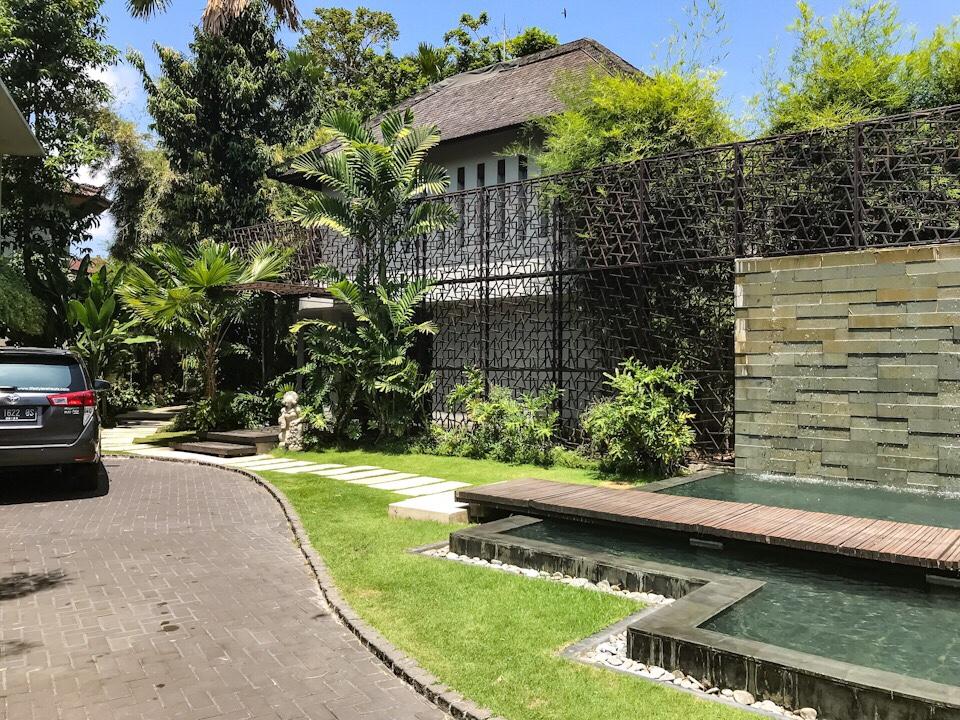 Entrance to The Amala resort