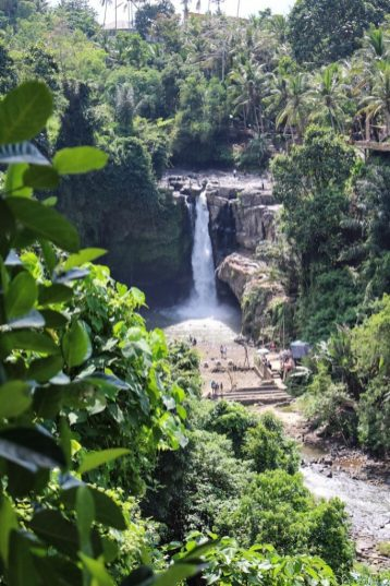 view of tegenungan waterfall ubud bali