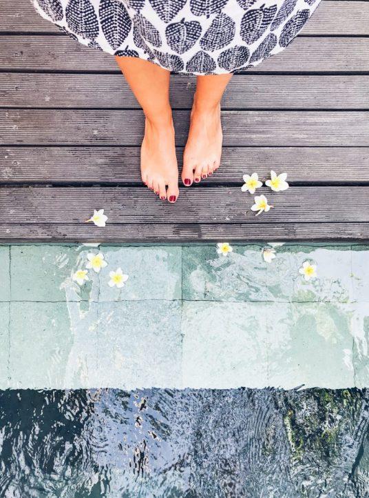 Pool in spa villa at The Amala in Seminyak Bali