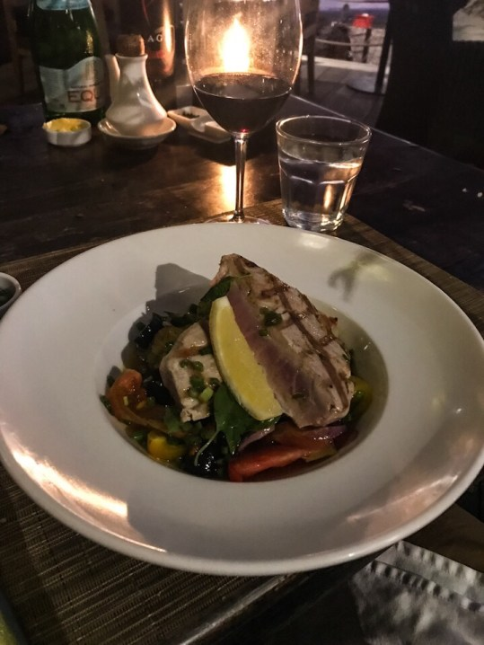Yellowfin tuna from Chez Gado Gado