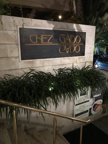 Chez Gado Gado sign