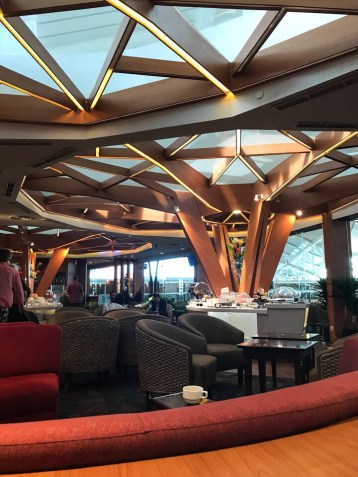 Lounge at the Bali airport
