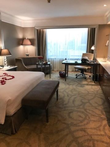 The room at the Intercontinental Bangkok
