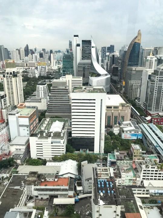 View from Rooftop pool at The Intercontinental Bangkok