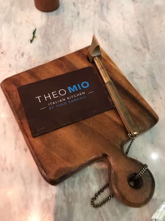 Complimentary dessert at Theo Mio at the Intercontinental Hotel in Bangkok Thailand
