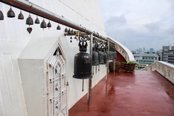 Bells at Wat Saket in Bangkok