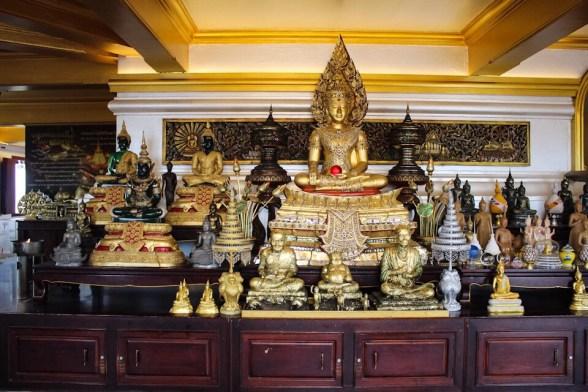Inside Wat Saket in Bangkok, Thailand