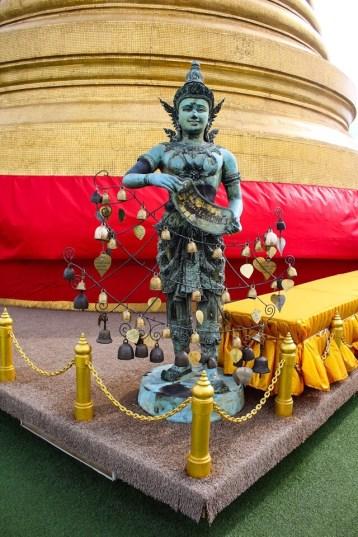 Statue at Wat Saket in Bangkok