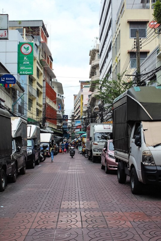 Chinatown in Bangkok Thailand