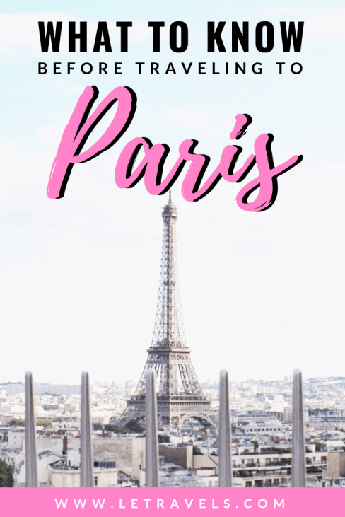 A comprehensive Paris attractions guide | Everything you need to know to plan the perfect trip to Paris | #paris #france #travelguide