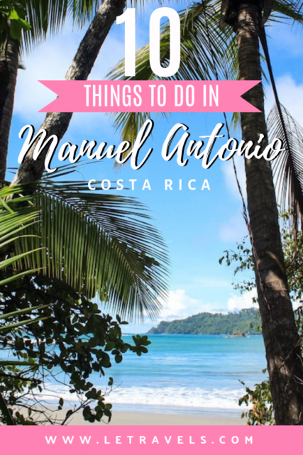 The Best Things to do in Manuel Antonio, Costa Rica | Best things to do for families in Costa Rica #costarica #manuelantonio #travelguide