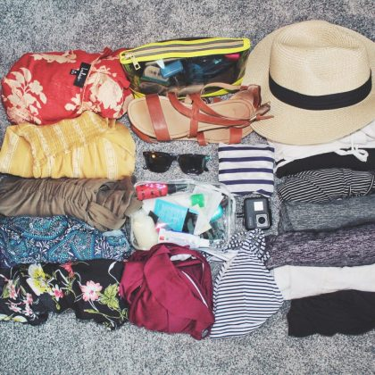 Clothes that I packed for Southeast Asia