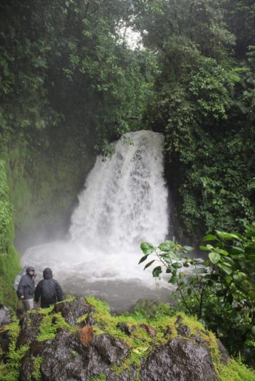 Waterfall at Arenal Observatory Lodge in La Fortuna Costa Rica