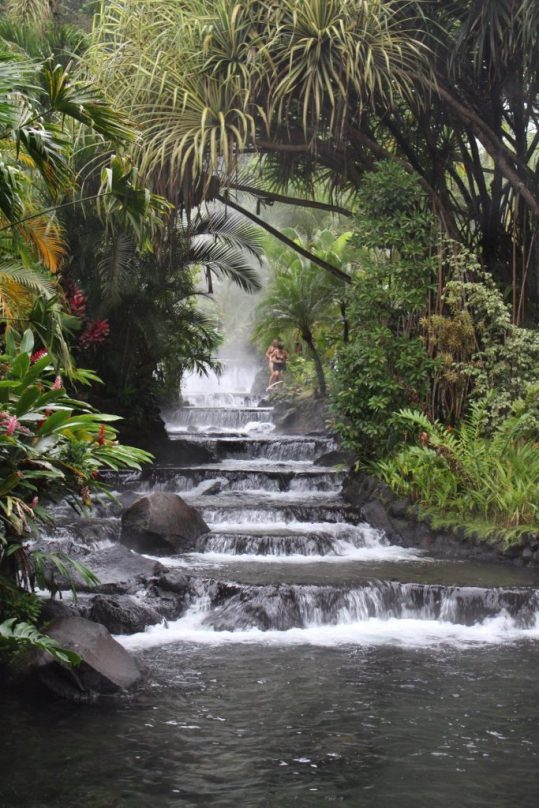 Tabacon Hot Springs Resort in La Fortuna Costa Rica