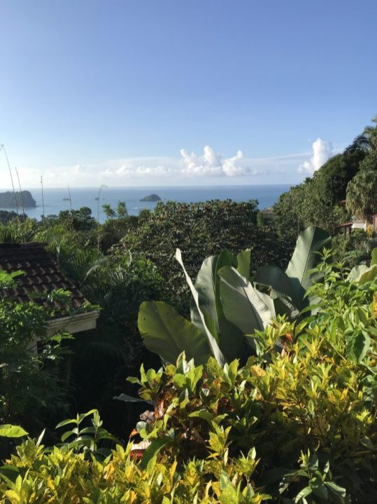 View from Emilio's Cafe in Manuel Antonio, Costa Rica