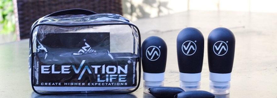 Elevation Life TSA approved toiletry bag