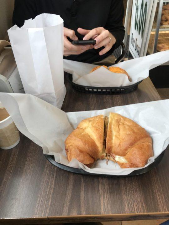 Breakfast Sandwich at Templeton Donuts Plus California