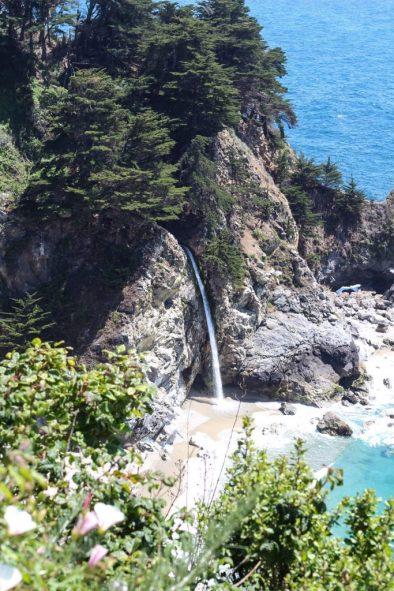 McWay Falls in Big Sur California