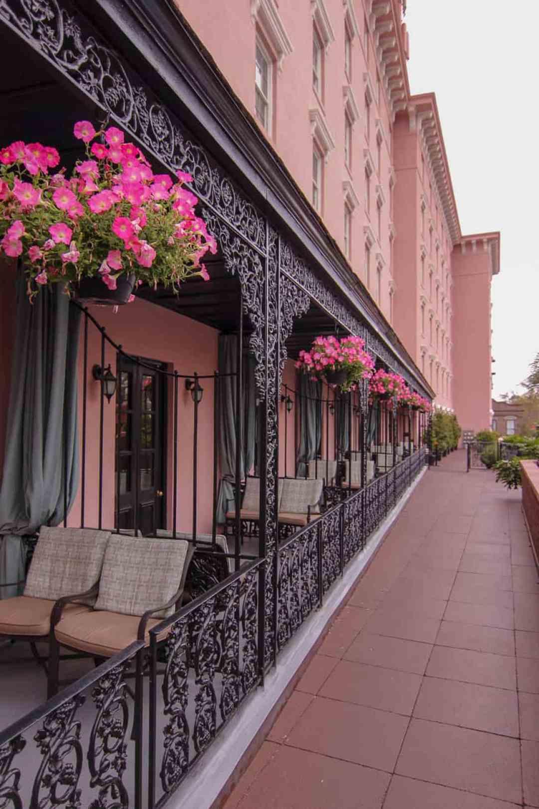 The Mills House Wyndham hotel in Charleston