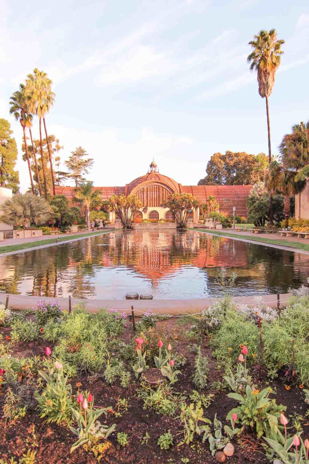 balboa park botanical garden