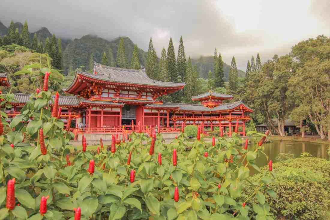 byodo in temple in oahu hawaii