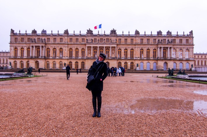 palace of versailles garden view