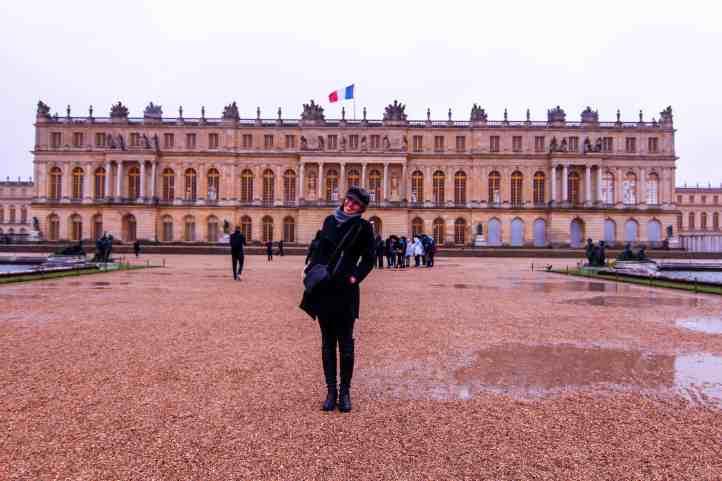 palace of versailles garden view