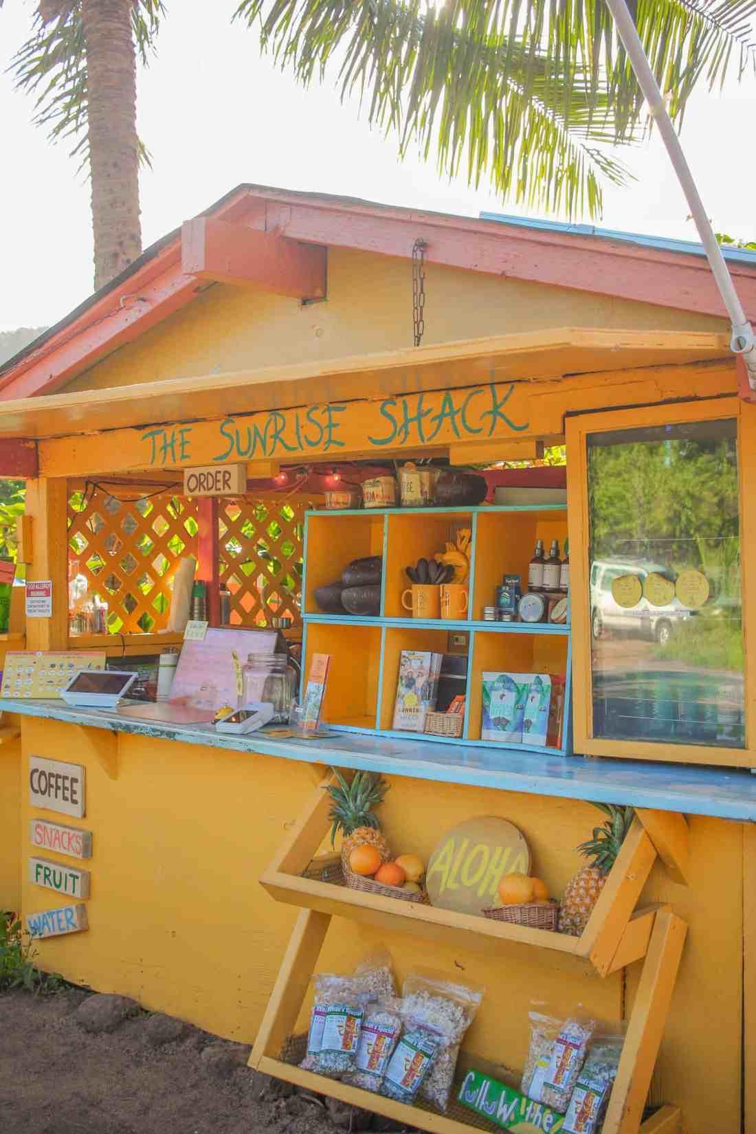 sunrise shack in oahu hawaii
