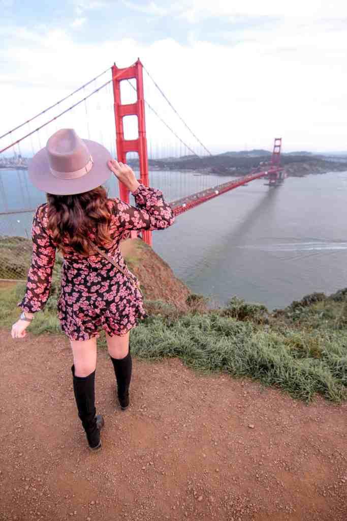 golden gate bridge lookout point - battery spencer